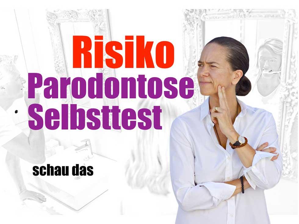 Selbtsttest-Parodontose