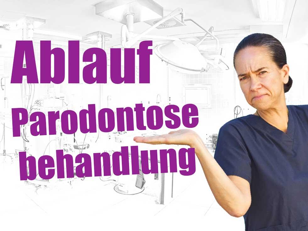 Paradontose-Behandlung